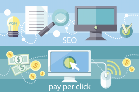 illustration of the importance of SEO and pay per click