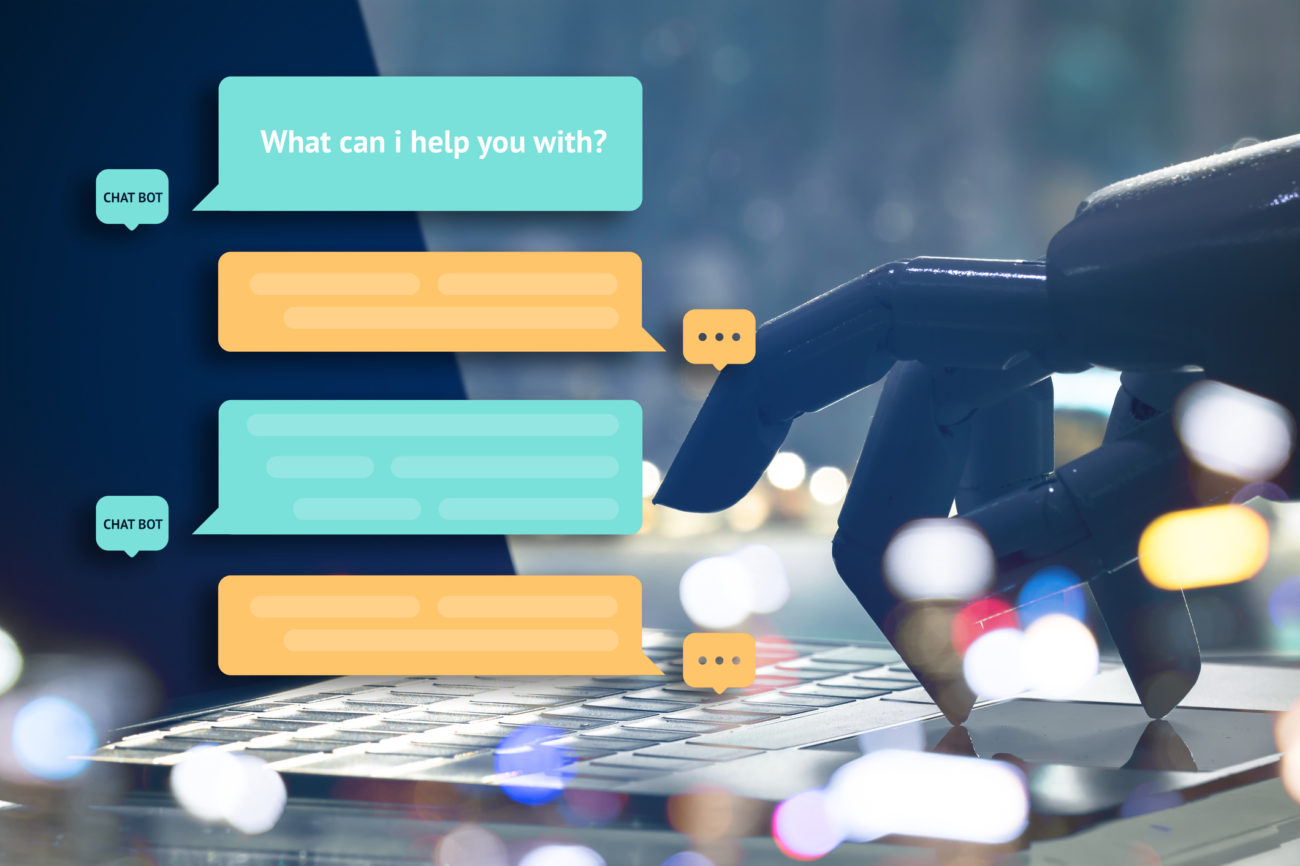 Chat bot and digital marketing
