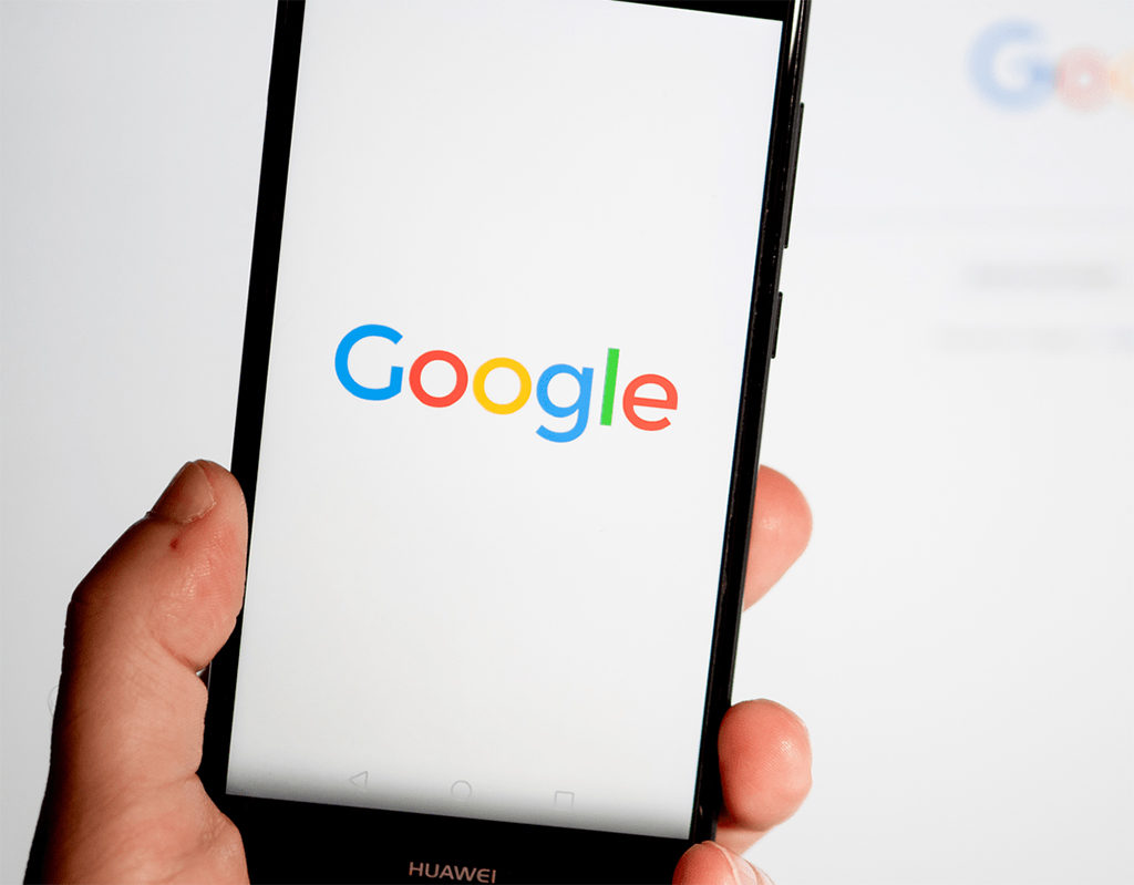 smartphone showing google discover screen