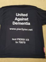 United Against Dementia t-shirt pier2pier