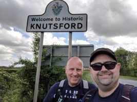 Ian and Stuart in Knutsford