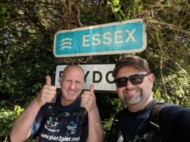 Ian and Stuart enter Essex