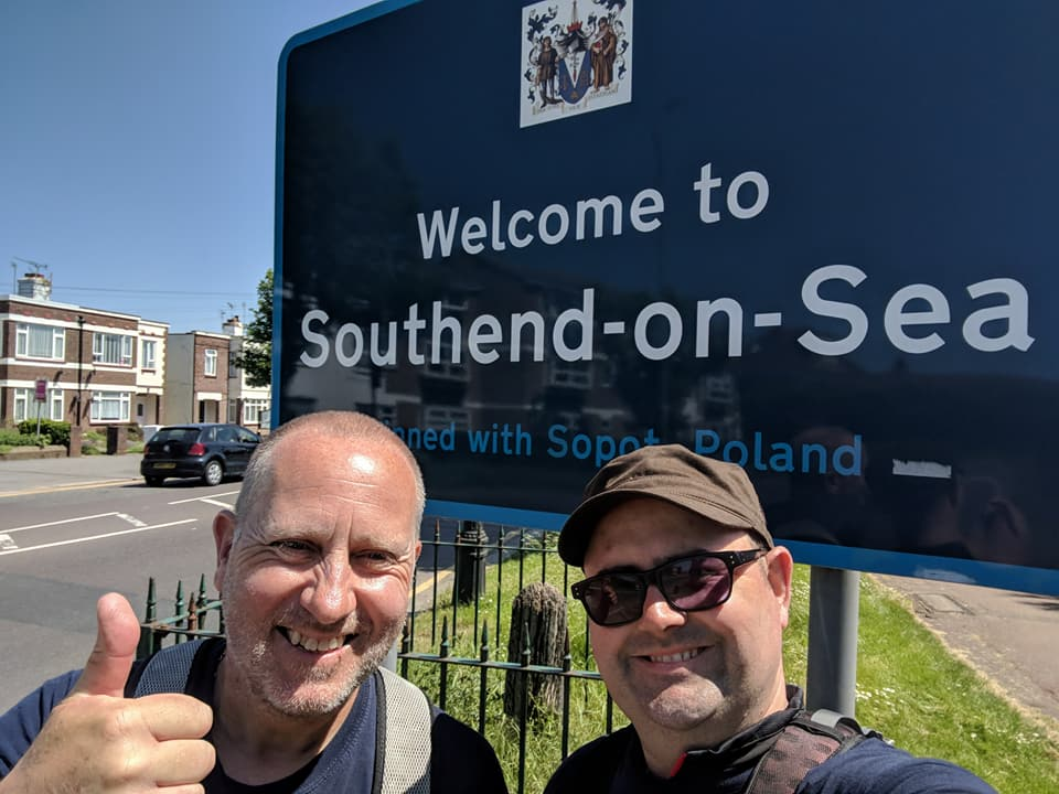 Ian and Stuart cross the border into Southend-on-Sea