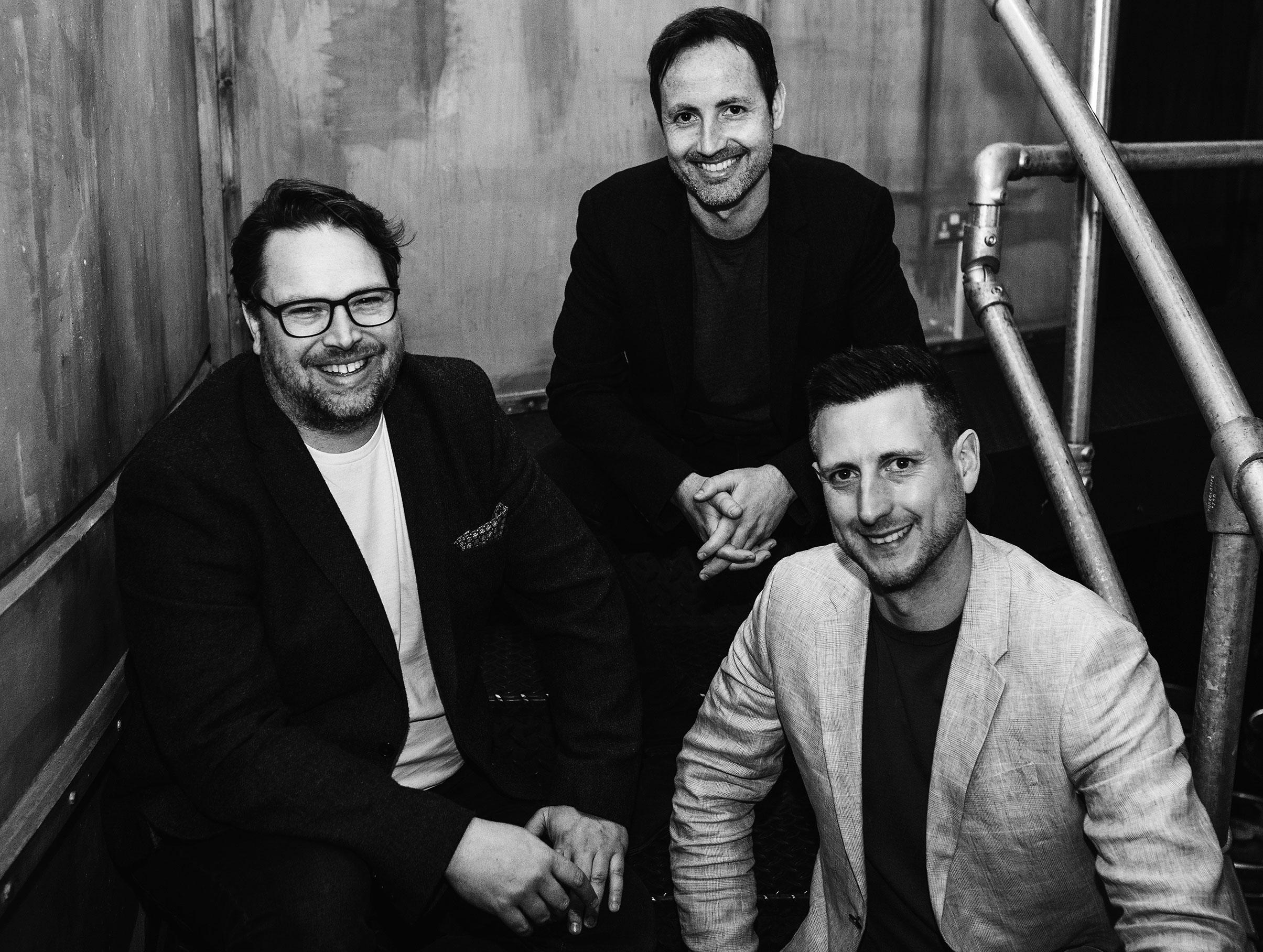 Dan, Stu and Steve - Zool Directors