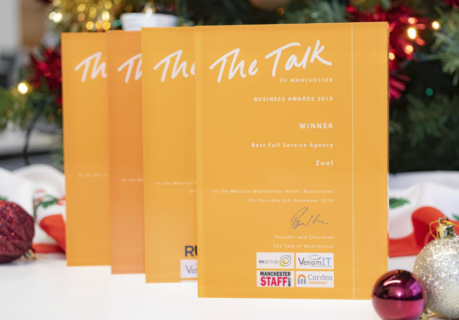 The Talk of Manchester Award for 'Best Full Service Agency'