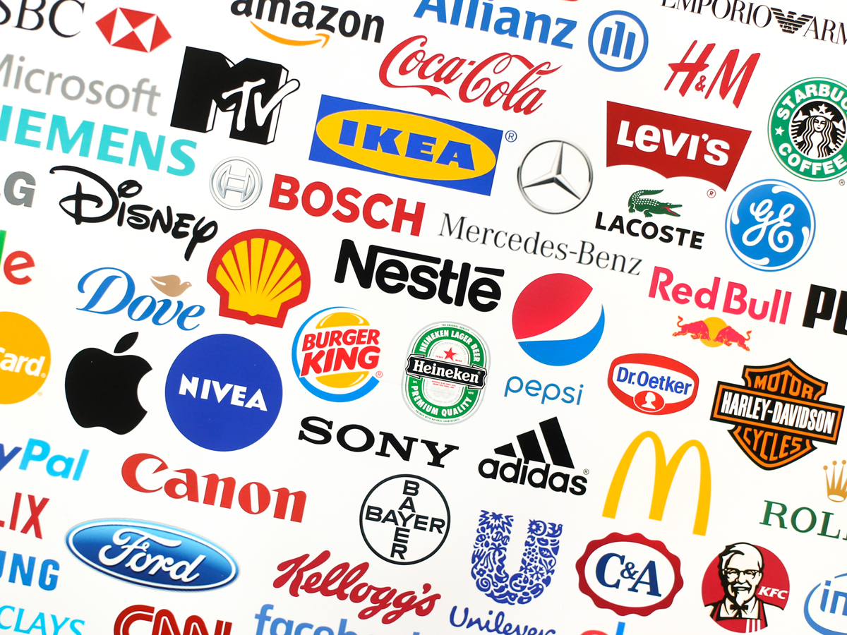 brand logos of some of the worlds most famous brands