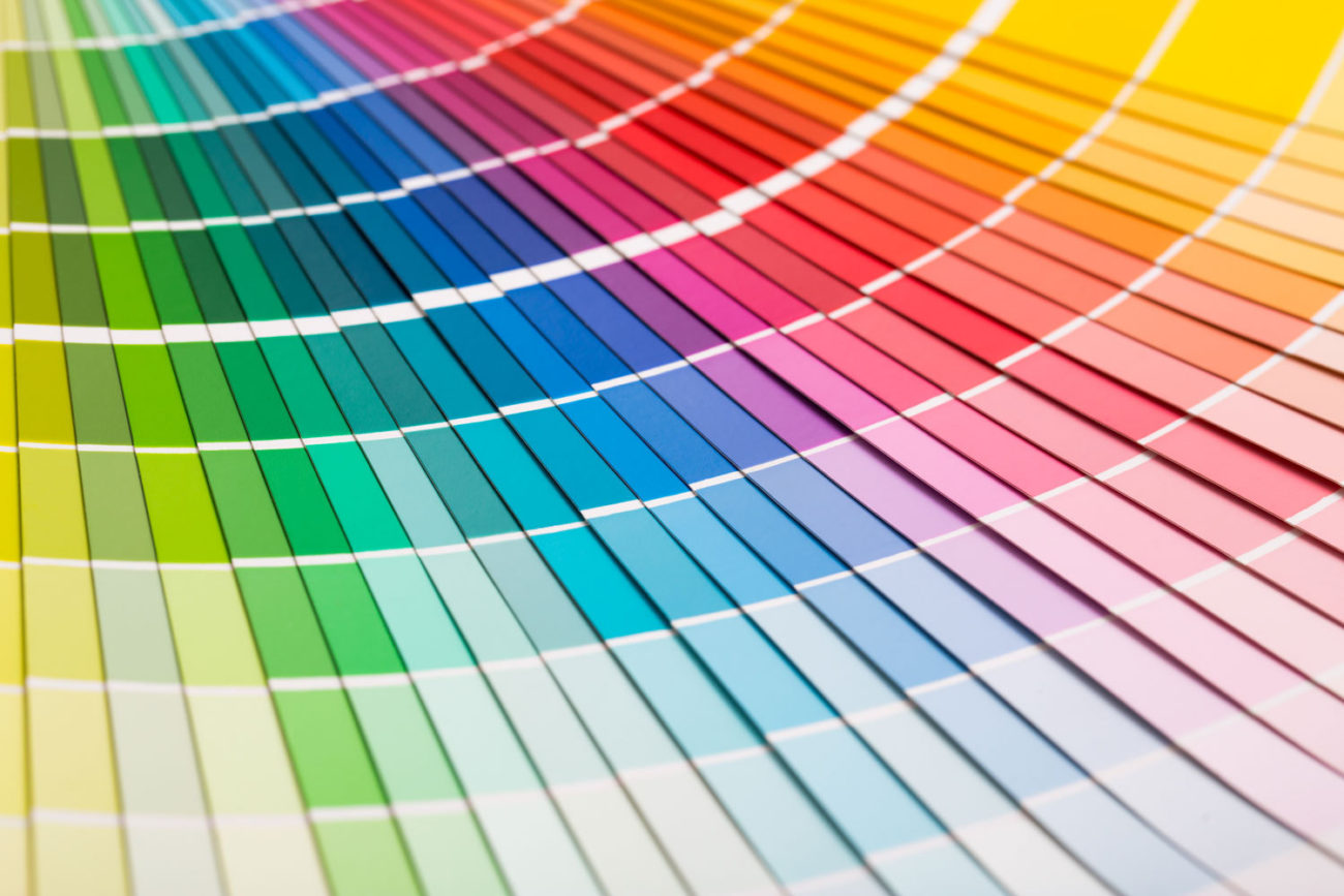 picking the right colour for your brand