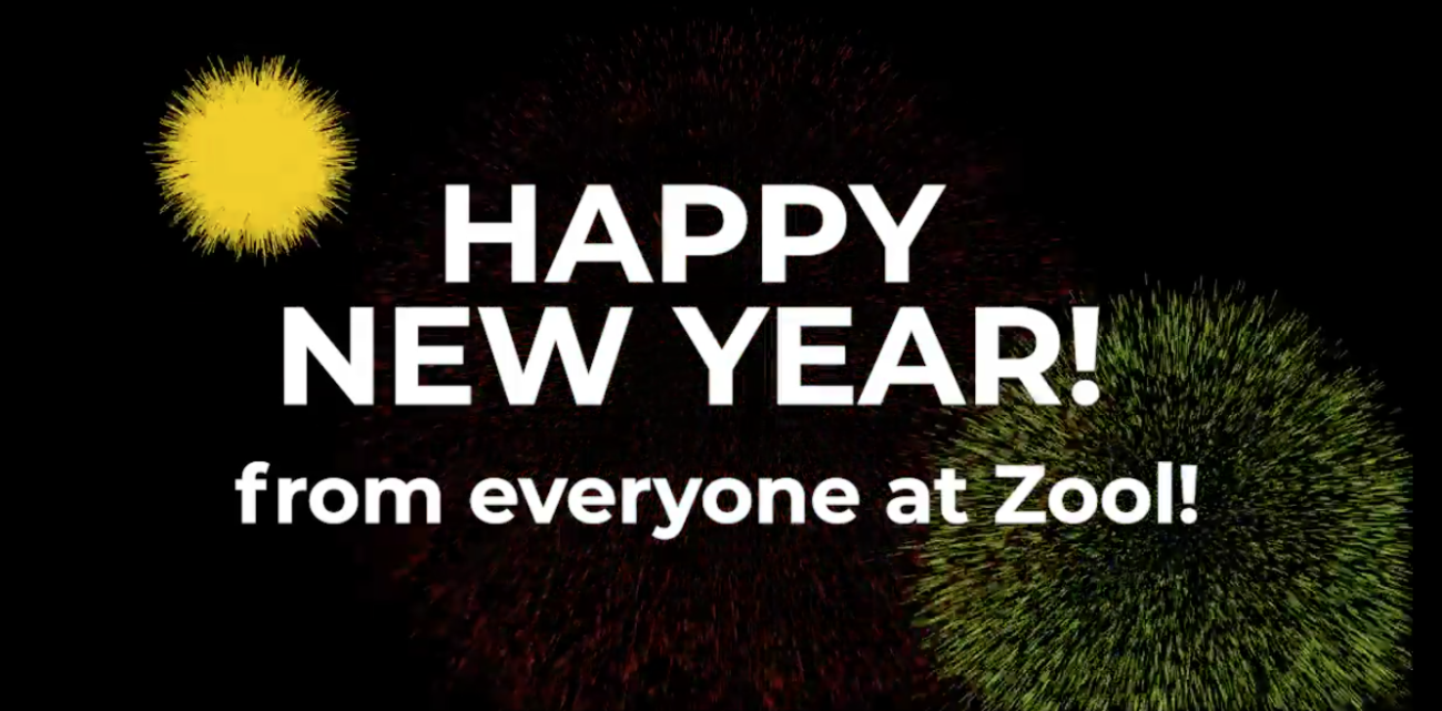 heppy new year from everyone at Zool