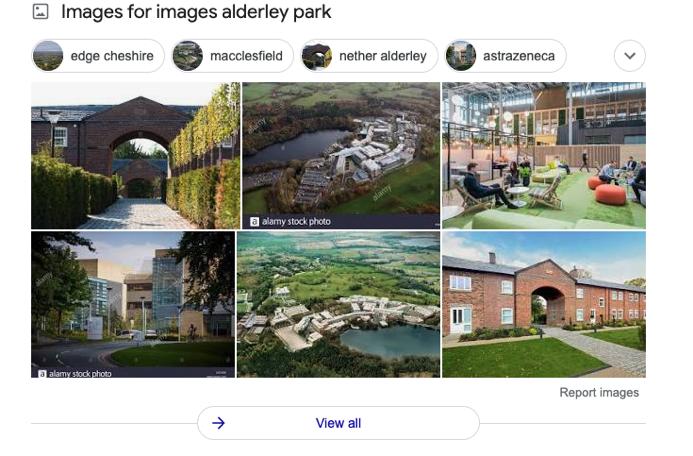 image pack about Alderley park