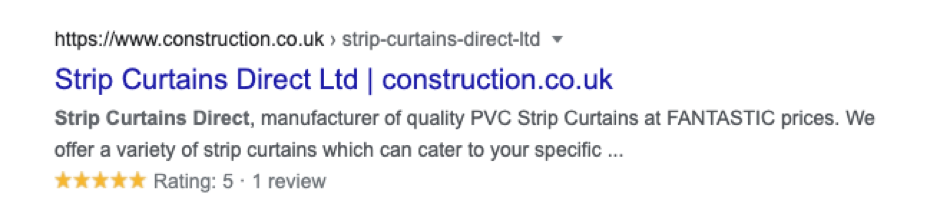 reviews on strip curtains direct